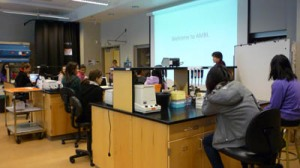 Gr. 9's at Michael Smith Laboratories, UBC.