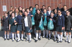 Gr. 7's Clean Up for Earth Week