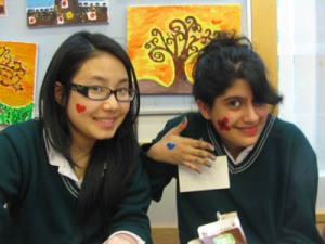 Earth Week Face Painting