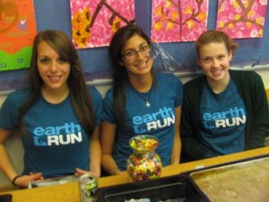 Raising Money for Earth Run