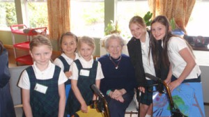The Giving Girls @ Arbutus Care Centre 1