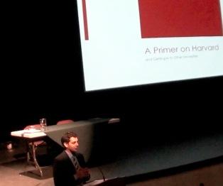 Getting into Harvard - Nov 30, 2011