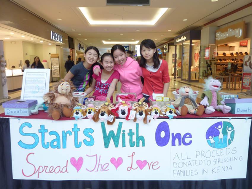 Volunteers at Richmond Centre