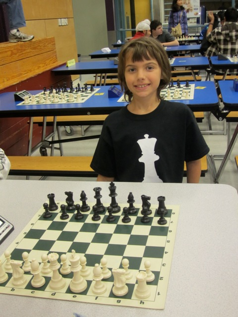 Pepi, Gr. 5, at the BC Qualifiers