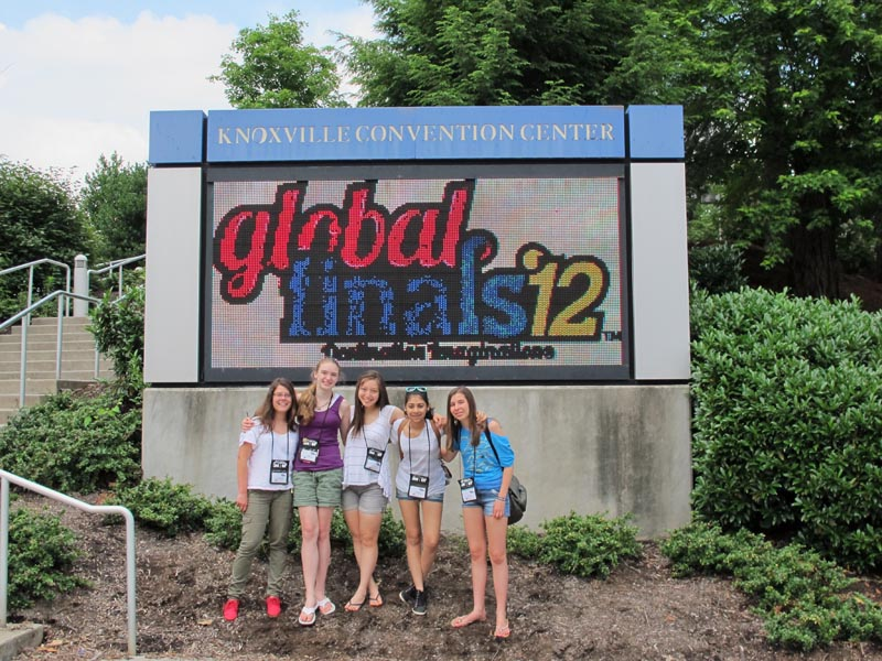 DI team at Global Finals in Knoxville, TN.
