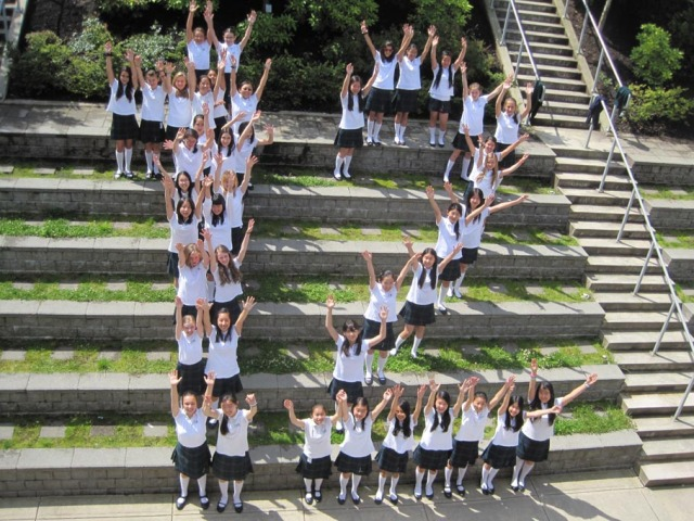 Grade 7 Class of 2012