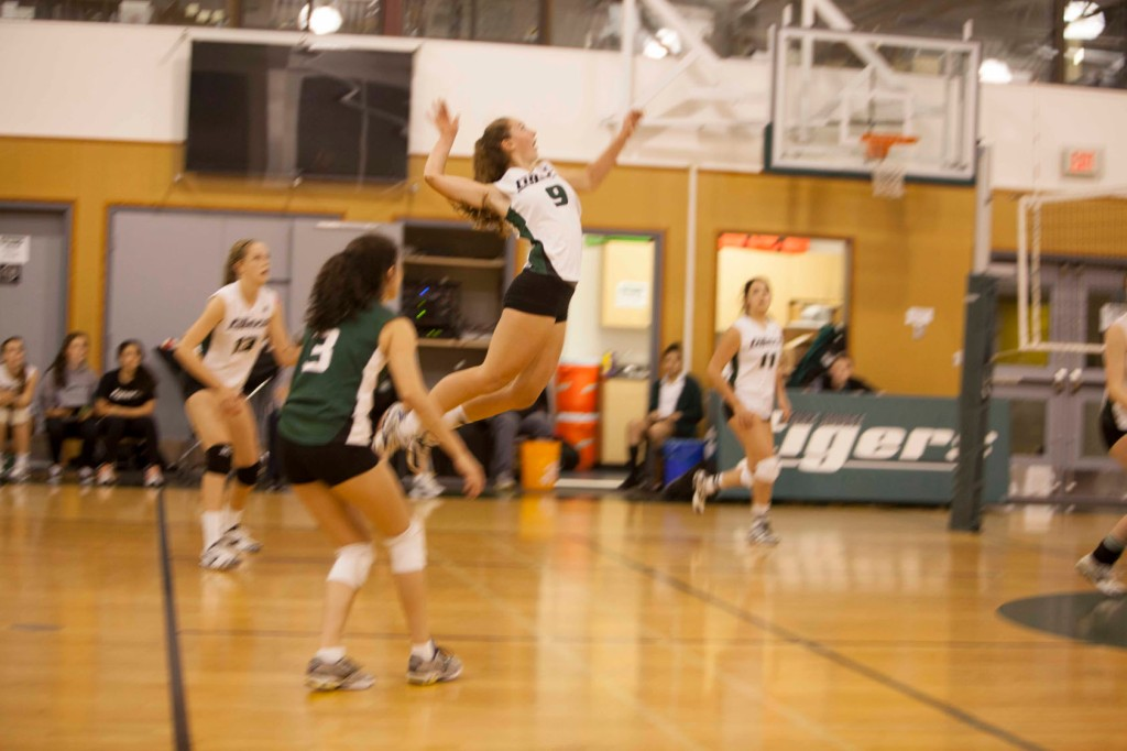 Tigers at the Western Canadian Independent Schools' Volleyball Championship