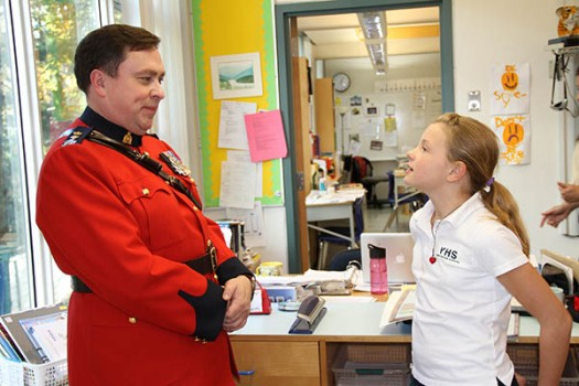 A Veteran Visit Grade 5