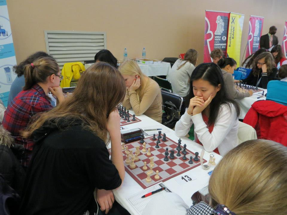 Alice, Gr. 11 at World Youth Chess Championship