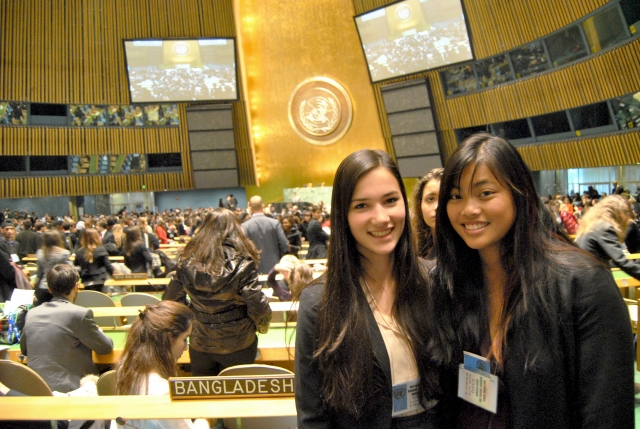 Model UN at the United Nations in NYC