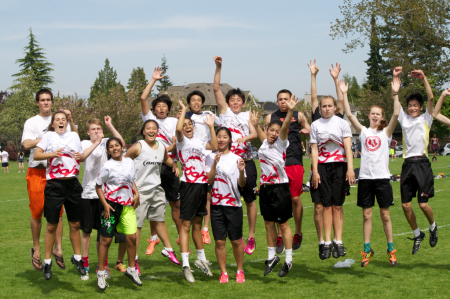 "Jr. Ultimate Team ""Tight"" at City Championships on Friday, May 10."