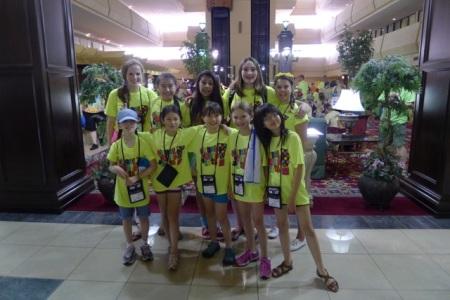 Senior and Junior YHS Destination ImagiNation teams