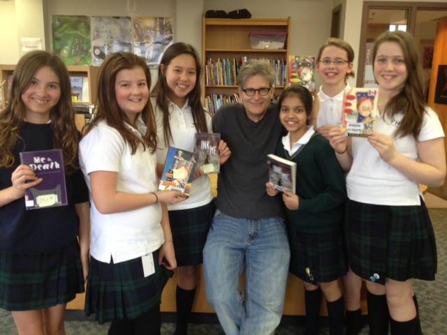 Author Richard Scrimger Visits YHS
