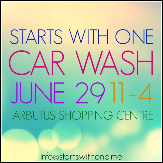 Starts with One Car Wash - June 29, 2013