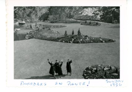 Boarders outing 1956