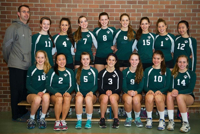 Sr. Volleyball at the Provincial Championships