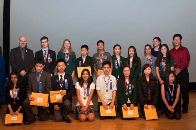 Winners selected for the Canada Wide Science Fair