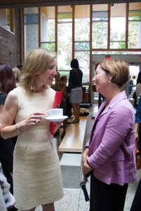 Head of School Chantal Gionet with Assistant Head, Kathy Kealey