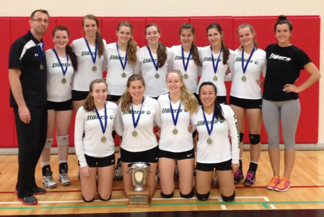 Sr. Volleyball: ISA Champs