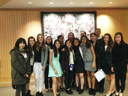 Jr. Model UN at the VYMUN Whistler Conference.