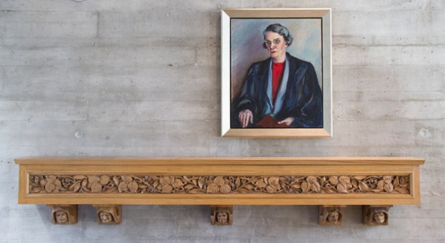 Portrait of Lena Cotsworth Clarke, Founder and First Head of School