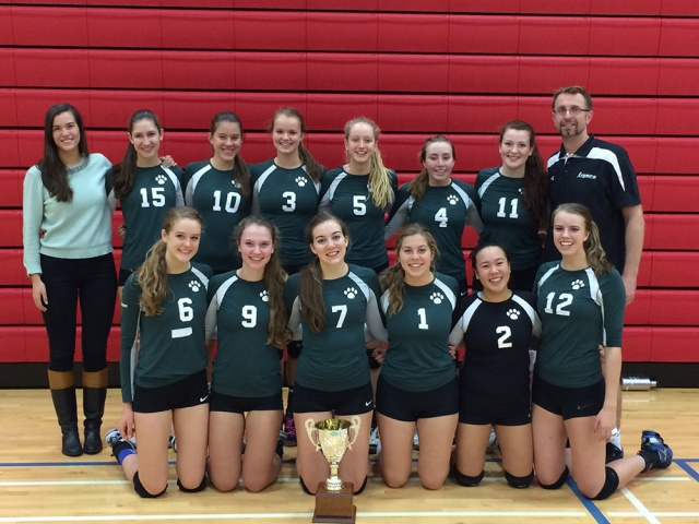 Senior Volleyball: Lower Mainland Champs
