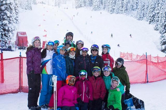 Ski Team in December 2014