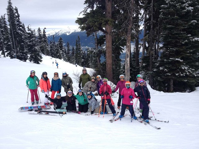 Ski & Snowboard Team - January Race.