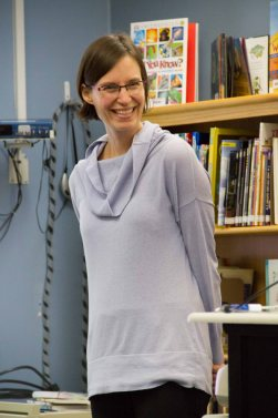 Red Cedar Book Award-winning Author, Sara Leach '89