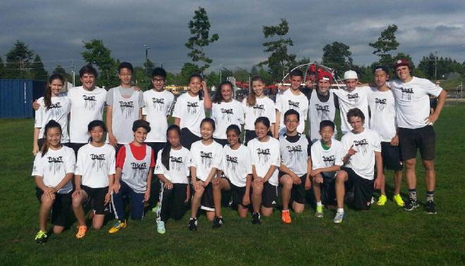 The Jr. 'B' team (Gr. 8s) won the Junior Tier 2 Provincials!