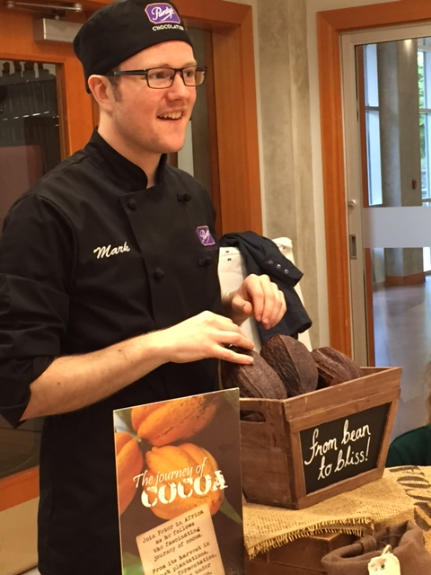 Purdys Chocolatier Mark Flaming