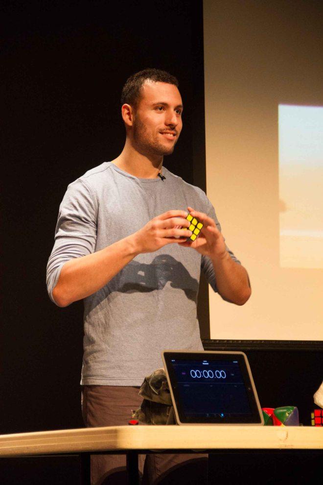 Speedcubing Champion Anthony Brooks