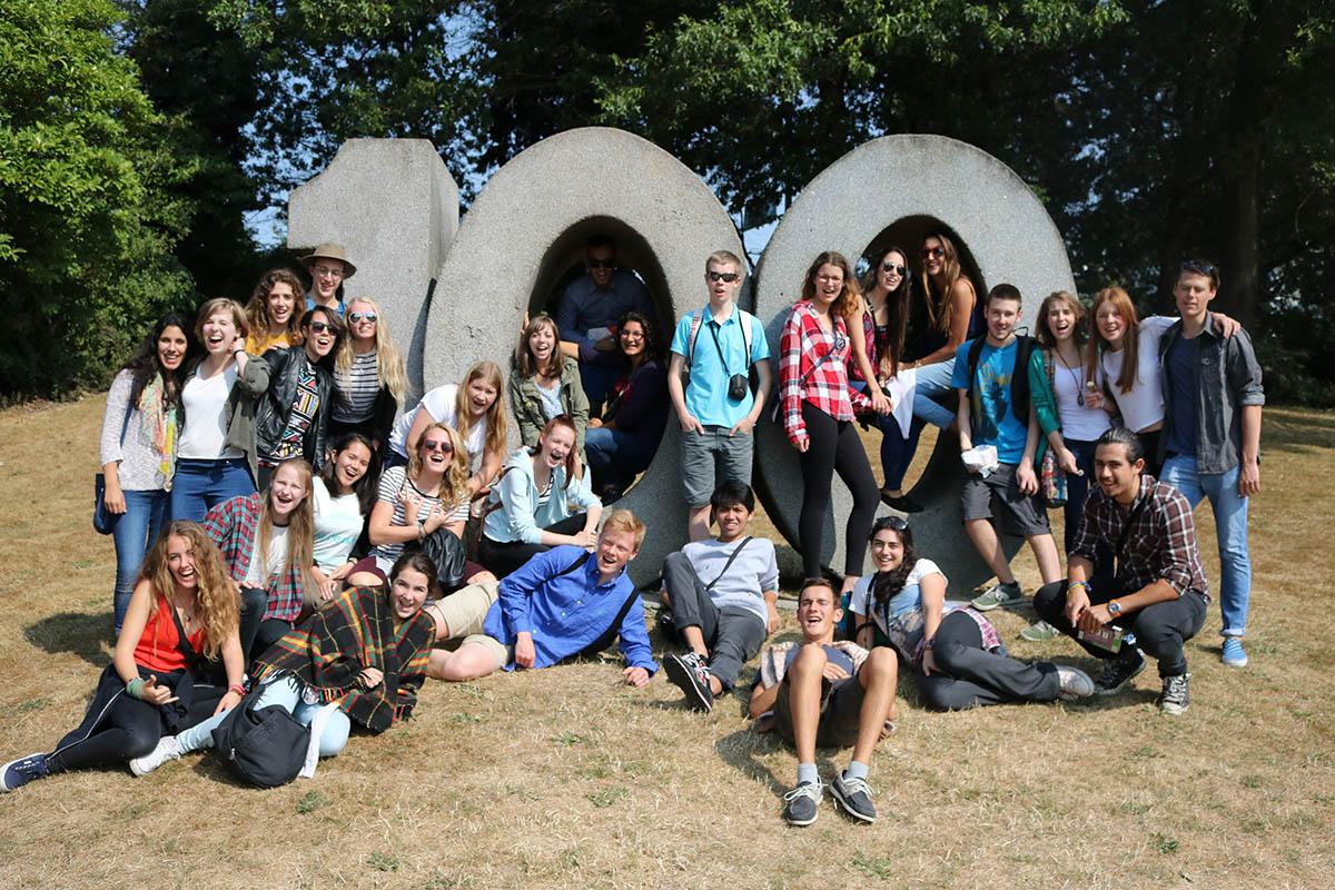 CISV Seminar Camp participants