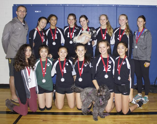 Sr. Volleyball Team Wins Silver at WCISVC
