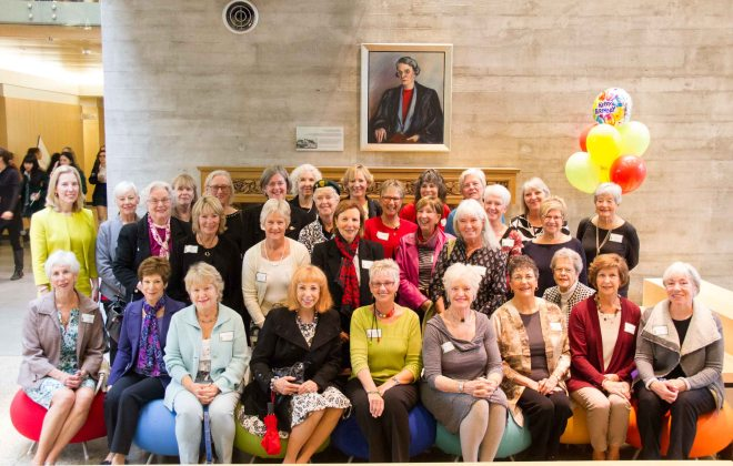 Golden Alumnae visit YHS on Founders' Day