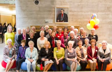 Golden Alumnae visit YHS on Founders' Day