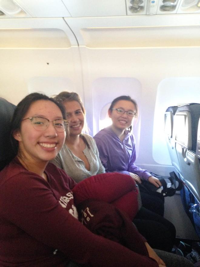 Saskia and Rainy head to Toronto for the International Public Speaking Competition.