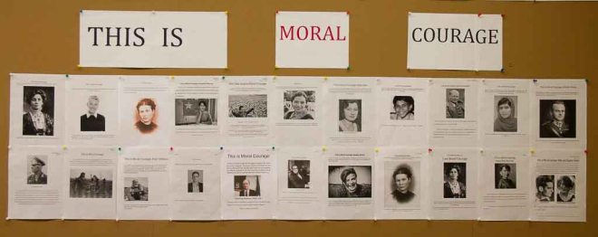 Ethics 9 Moral Courage Assignment