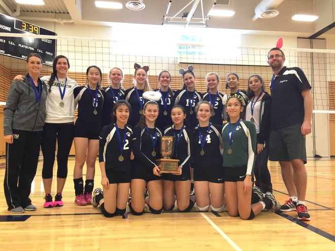 Sr. Volleyball: ISA Champions